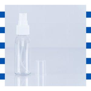 Pschiiit 20ml pour contenir de l'alcool afin de désinfecter les mains ou les outils Bleucocotte