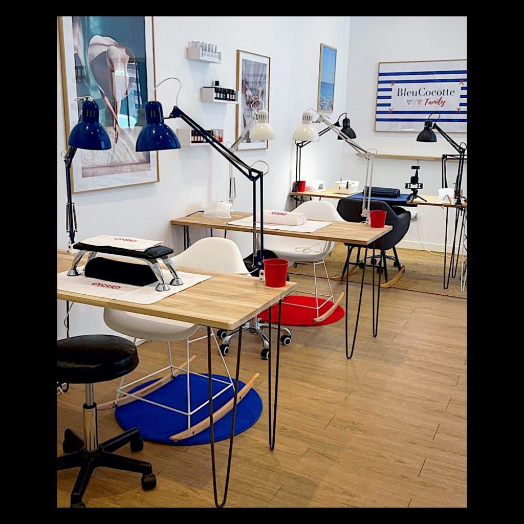 intérieur atelier bleucocotte bordeaux